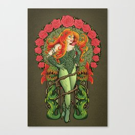 Pretty Poison Canvas Print