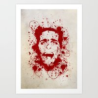 american psycho Art Prints featuring American Psycho by David