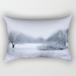 winter magic Rectangular Pillow