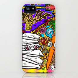 Save the Veggies! - Carrot iPhone Case