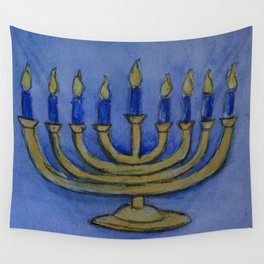 Happy Hanukkah WC161122c Wall Tapestry