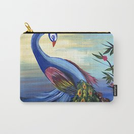 Peacock Life Carry-All Pouch