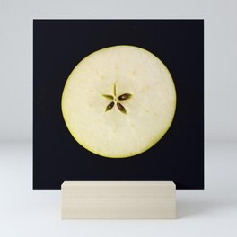 A star of an apple Mini Art Print
