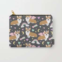 Corgi Unicorn blanket  cute dog corgi Carry-All Pouch