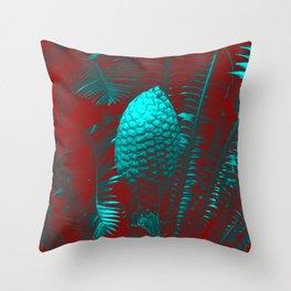 Palm Fantasy Throw Pillow