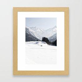 Winterwonderland Framed Art Print