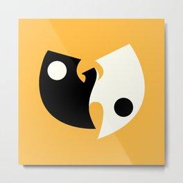 Wu Tang Yin Yang Metal Print