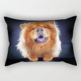 Super Pets Series 1 - Super Chow Rectangular Pillow
