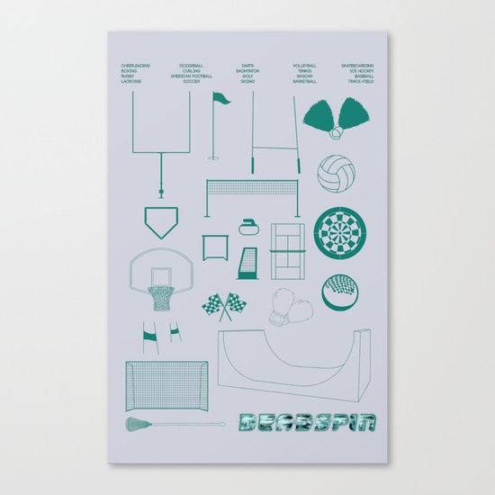 Essence Of Deadspin Canvas Print
