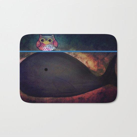 owl&whale-18 Bath Mat