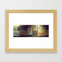 old brands Framed Art Print