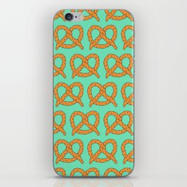 Salted Pretzels iPhone Skin