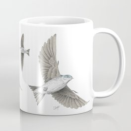 Swallows flying Coffee Mug