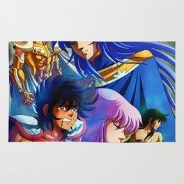 Saint Seiya Poster Rug