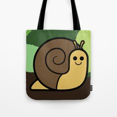 Cutesy Crawlies — Snail Tote Bag