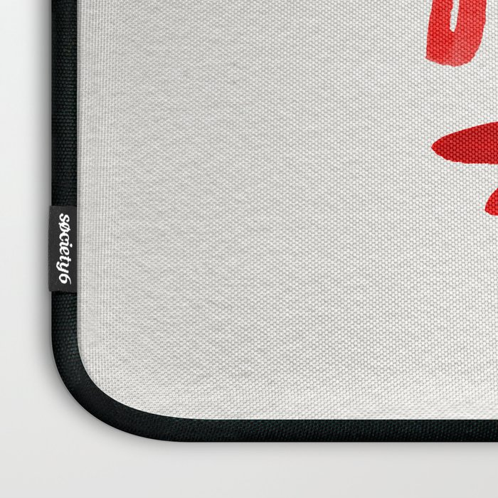 Good Vibes – Red Ink Laptop Sleeve