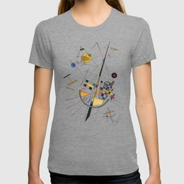 Kandinsky Delicate Tension No. 85, 1923 Artwork Reproduction, Design for Posters, Prints, Tshirts, Men, Women, Kids, Youth T-shirt