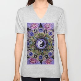 Mandala 12 Unisex V-Neck