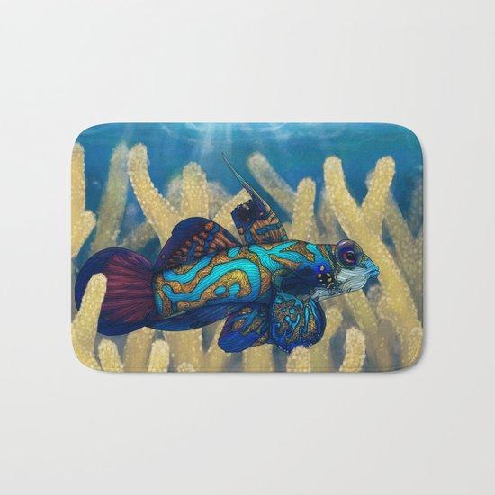 Mandarinfish Bath Mat