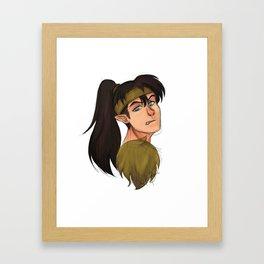 The Wolf Demon Framed Art Print