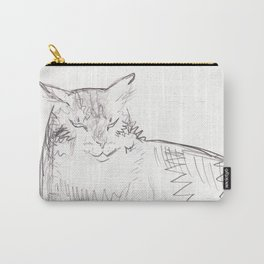 Portrait of My Cat: Greybo Carry-All Pouch