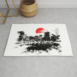 Abstract Kyoto - Japan Rug