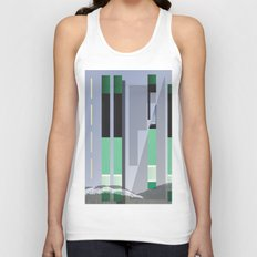 Rolling Through The Pines Unisex Tank Top