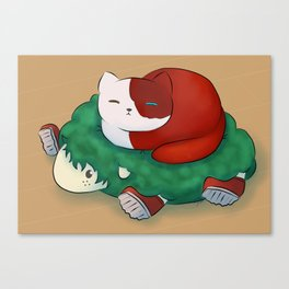 BnHA Atsume - Todoroki Canvas Print