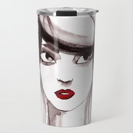 woman ink 03 Travel Mug