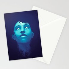 Luminescent Sapphire Stationery Cards