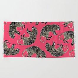 Bengal Tiger pattern Beach Towel