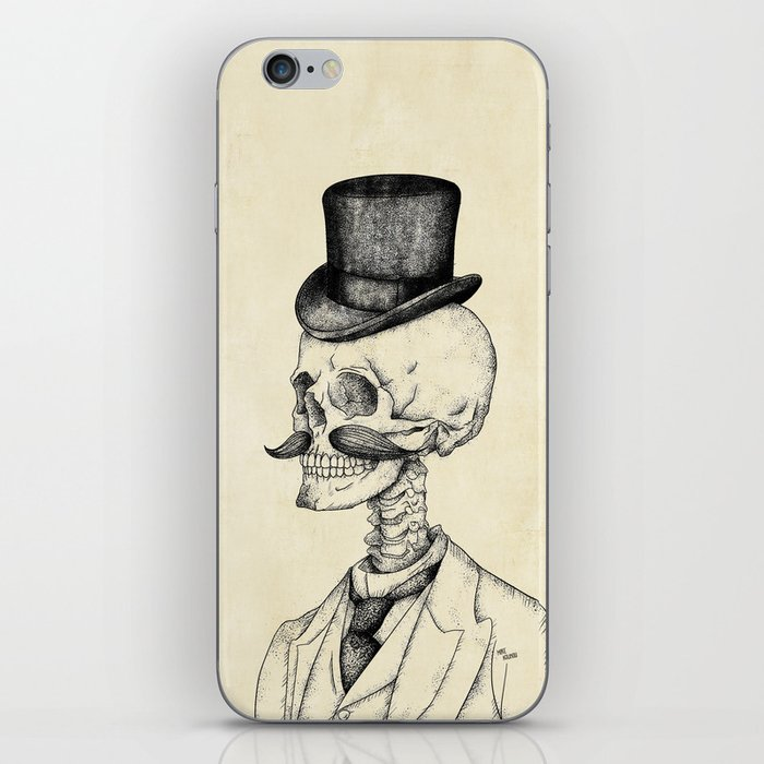 Old Gentleman  iPhone Skin