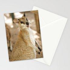 Smiling Kangaroo Stationery Cards