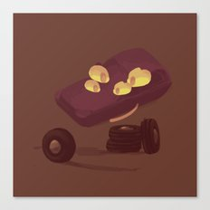 kind face car parts Canvas Print