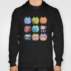 Colorful Cats Hoody