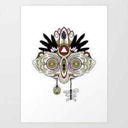 Death Mask 2 Art Print