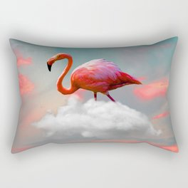My Home up to the Clouds Rectangular Pillow