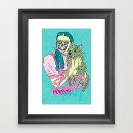 Lsd  horror party Framed Art Print