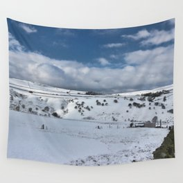 Snow in the peak district Wall Tapestry