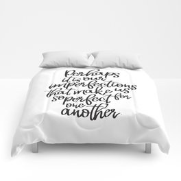 Perhaps it is our imperfections | Jane Austen Comforters