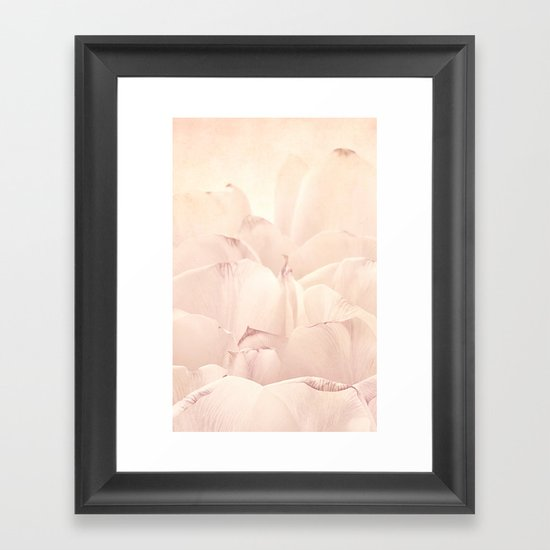 Petals Framed Art Print