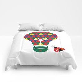 Bon Vivant: Bright Idea Art Series  Comforters