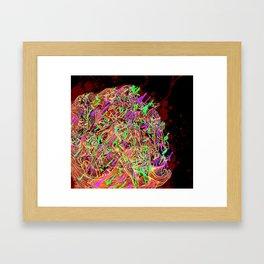 JIZZ Framed Art Print