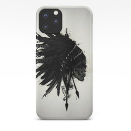 Warbonnet Skull iPhone Case