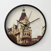 sweden Wall Clocks featuring Sweden by MillennialBrake