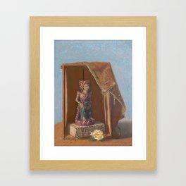 Goddess in a Box Framed Art Print