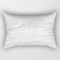 Five Thousand Two Hundred Rectangular Pillow