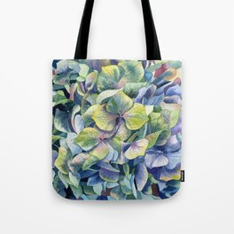 """Forest hydrangea"" Tote Bag"