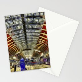 Paddington Railway Station Art Stationery Cards