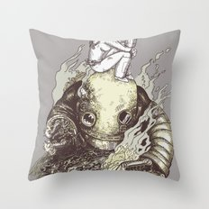 harder they fall Throw Pillow